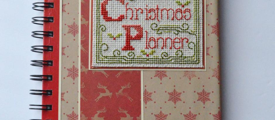 Cross Stitch Christmas Planner (Free chart)