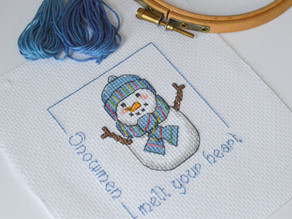 A Year of Christmas Stitching - March