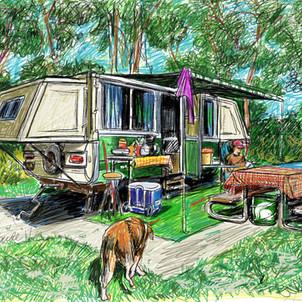 Apache Camper