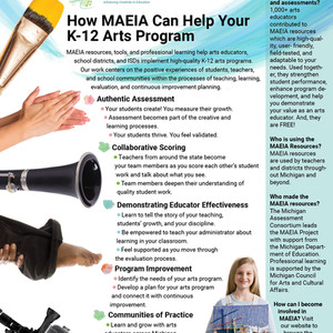 Michigan Arts Education Instruction and Assessment (MAEIA)