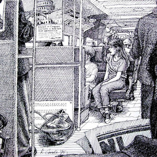 Commuters into New York City