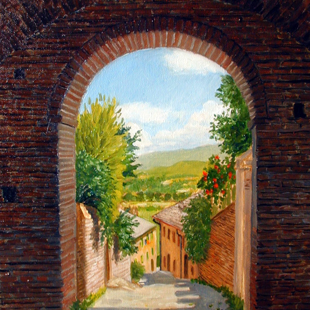 Tuscan Archway