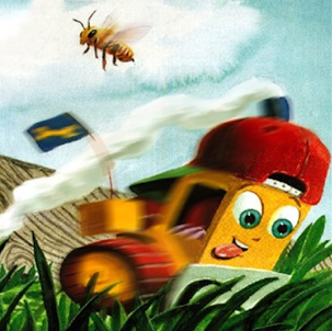 Dozer escapes sandbox