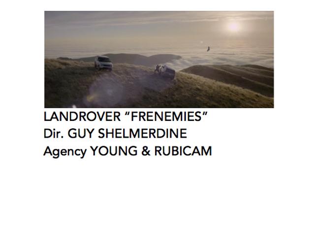 Land Rover 'Frenemies'