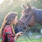 Mädchen mit Pferd Kundenbewertung Bettina Pusker