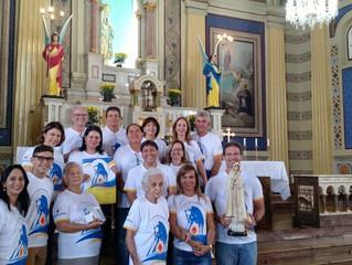 Mais uma paróquia recebe a visita da comissão do Centenário