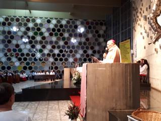 D. Washington preside missa na paróquia Nossa Senhora de Fátima