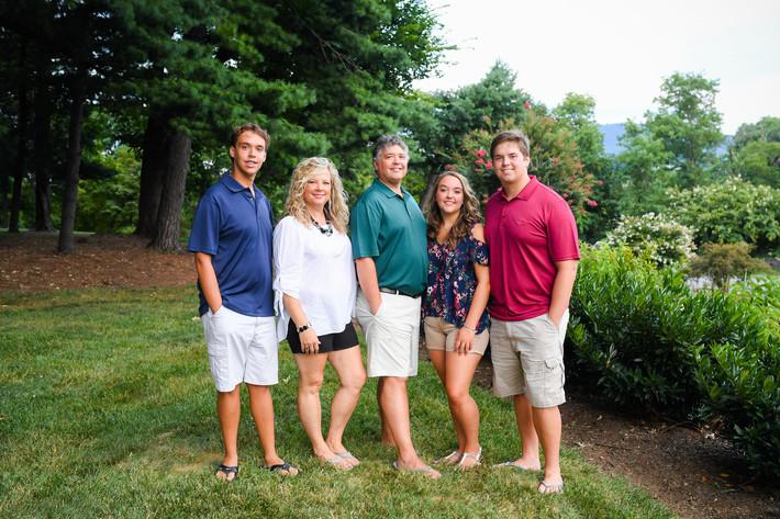 Bridgers Family College Send-Off
