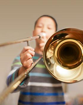 Boy Trombone spelen