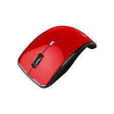 Klip Xtreme Kurve KMO-375 Red Mouse