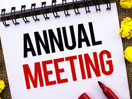 Annual HOA Board Meeting, Tuesday, 02/23 at 5pm: Attend Virtually With Simple Links Below
