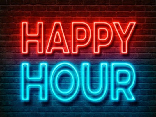 Reminder: Happy Hour & Name That Tune -- Tomorrow, Thursday, Oct. 21st