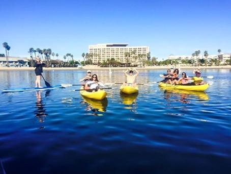 Reminder: Group Kayak & Paddle Boarding this Morning @9:30am