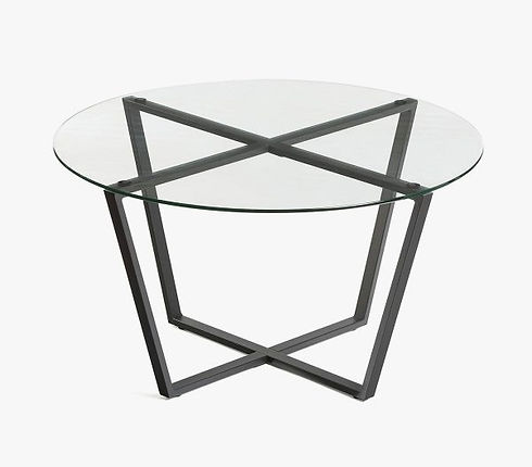 Modern-Round-Glass-Coffee-Table-With-Steel-Base-Under-100-600x526.jpg