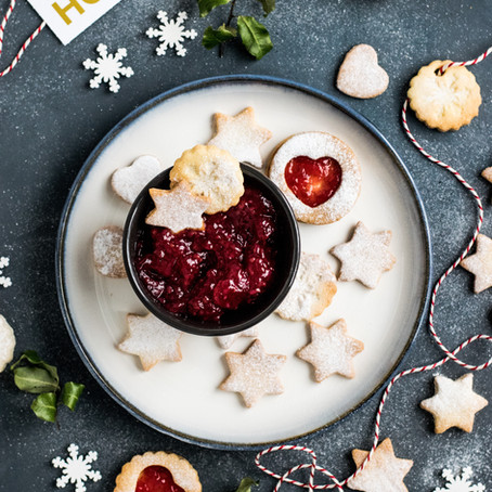 The Ultimate Butter Cookies (with Cherry Jam)