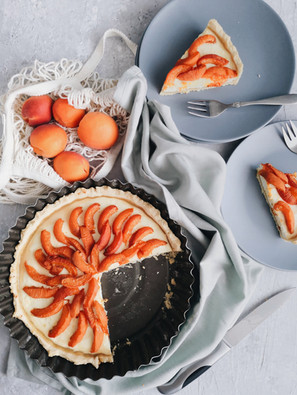 Peach & Cream Pie