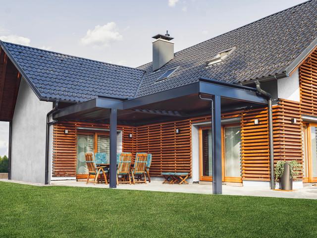 Neubau der Veranda bei Familie Gärtner