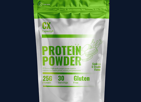 Protein Powder Cookies & Cream