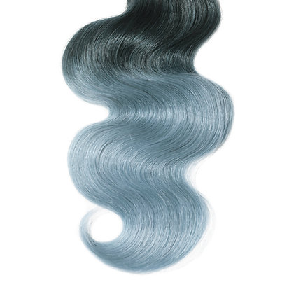 Platinum Blue Ombre