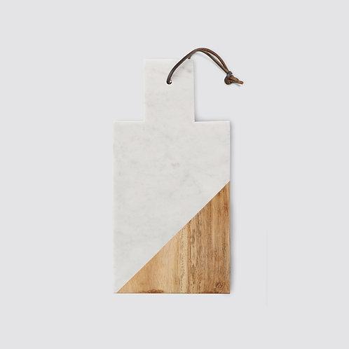 Wood & Marble Cutting Board