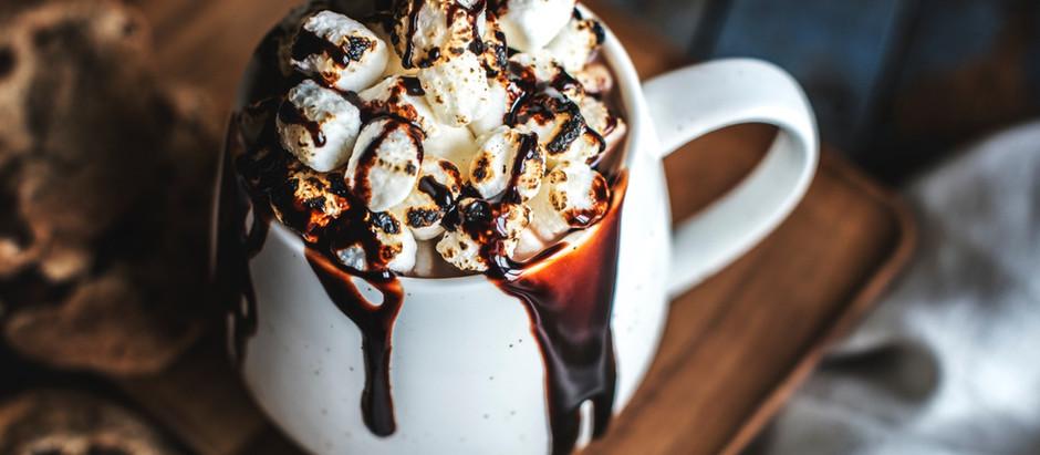 Marshmallow Chocolate in a Mug
