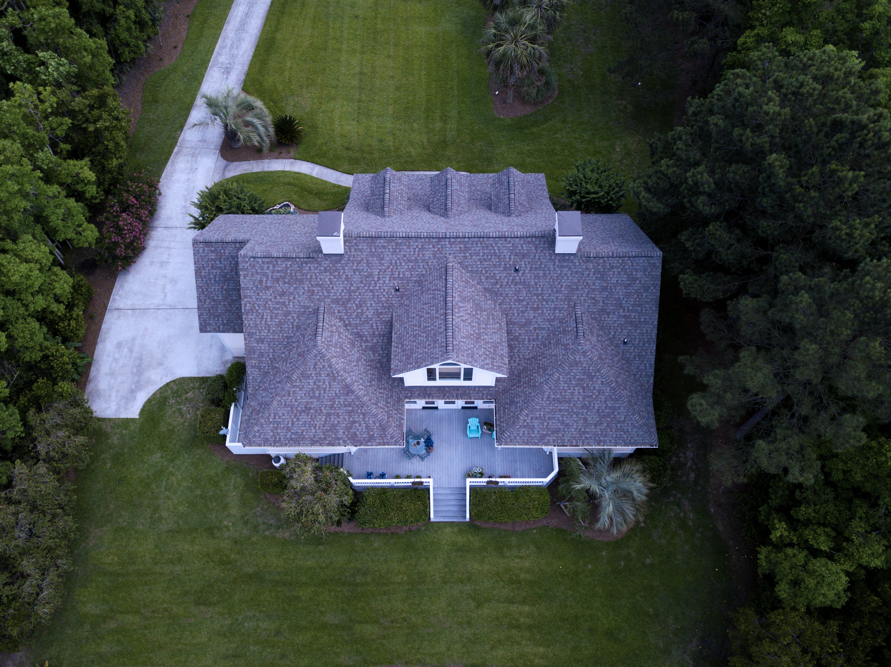 Drone Photo Of Roofing In Toronto