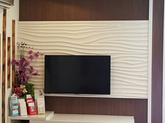 WAVE TV WALL FEATURE