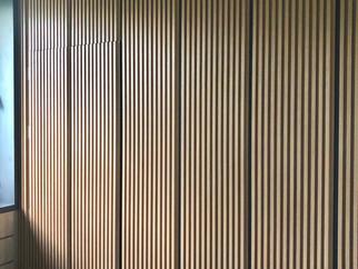 wood slat wall panel design
