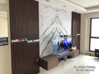 TV feature wall design panel