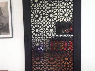 pvc grille panel