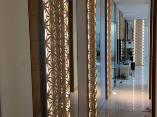 corridor wall panel design