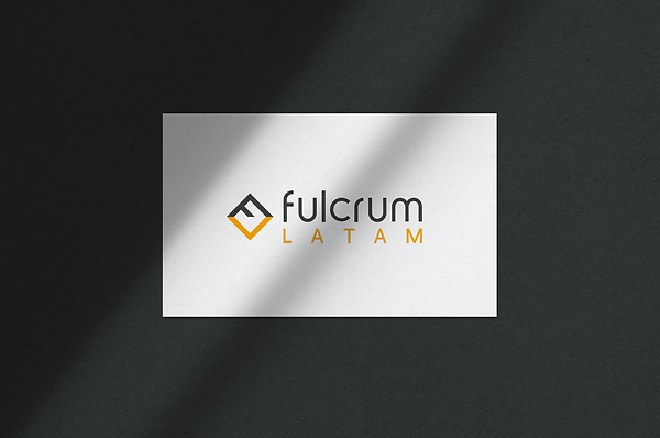 Fulcrum Latam logo name card