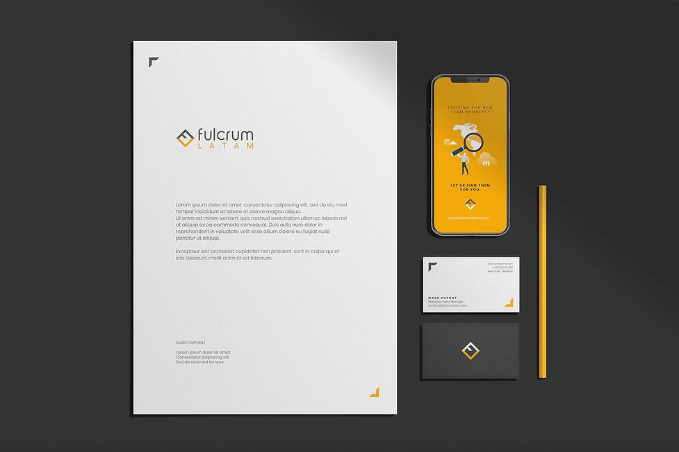 Fulcrum Latam branding