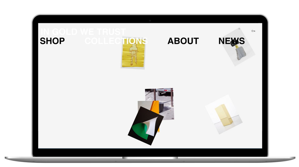 In Gold we Trust — Visueal identity & Web design