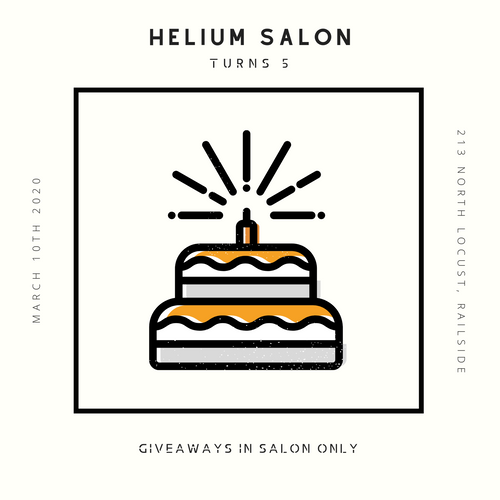 Helium's 5th Birthday