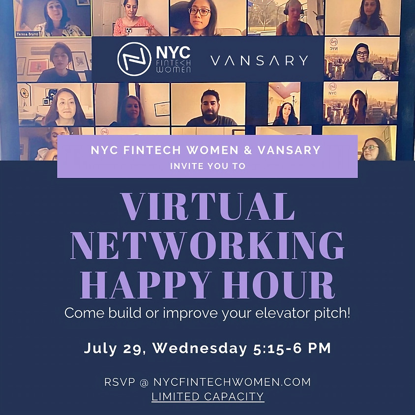 """Networking Happy Hour: """"Tell Me About Yourself"""""""