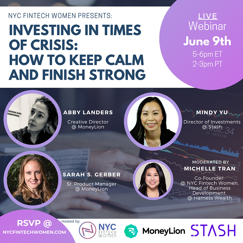 Investing in Times of Crisis: How to Keep Calm and Finish Strong