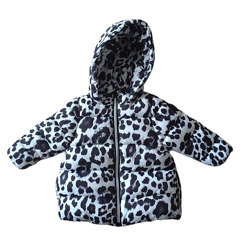 V by Very 3-6 months Animal Print Padded Coat