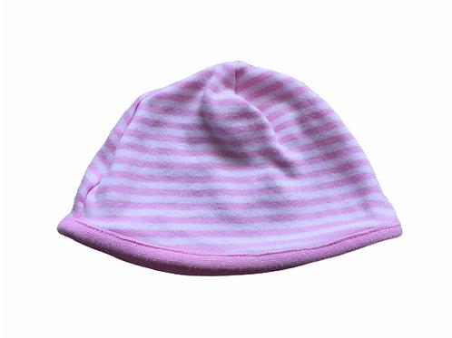 M&Co. 0-3 months Pink Striped Hat