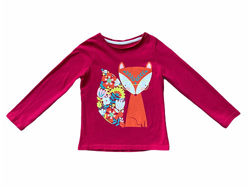 Boots Mini Club 3-4 years Long Sleeve Fox Top