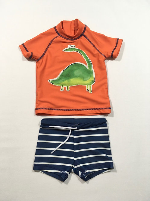 Next 3-6 months Swim Top and Shorts Set