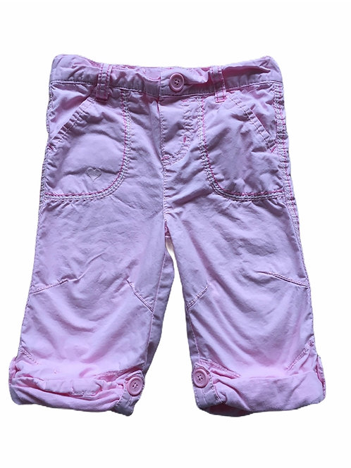 Cherokee 9-12 months 100% Cotton Pink Trousers