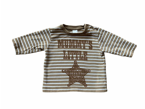 Next Up to 1 month Mummy's Little Sheriff Long Sleeve Top