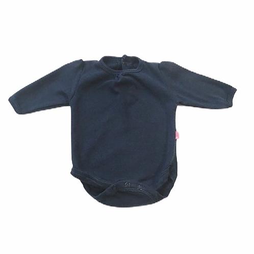 JoJo Maman Bebe 0-3 months Navy Long Sleeve Bodysuit