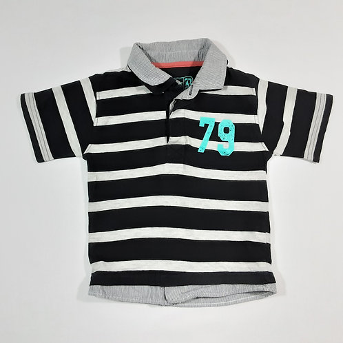 Primark 2-3 years Striped Polo Shirt