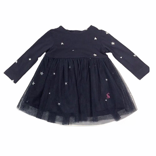 Joules 3-6 months Navy Star Dress