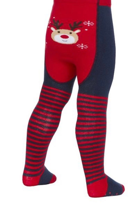 18-24 months Reindeer Christmas Tights - BRAND NEW
