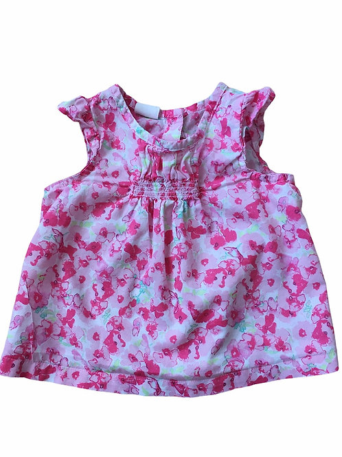 H&M 4-6 months Sleeveless Floral Top