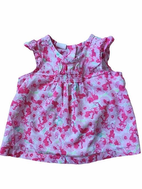 H&M 4-6 months Sleeveless Floral Top