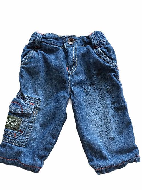 M&S 3-6 months Bear Jeans